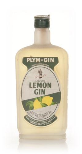 Plymouth Lemon Gin - 1960s