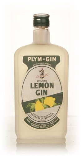 Plymouth Lemon Gin - 1970s