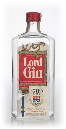Lord Extra Dry Gin - 1970s