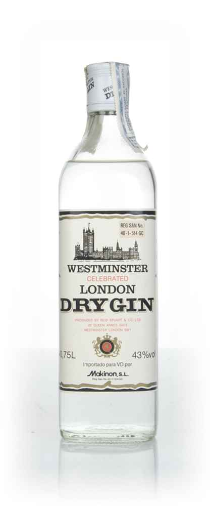 Westminster Celebrated London Dry Gin - 1970s