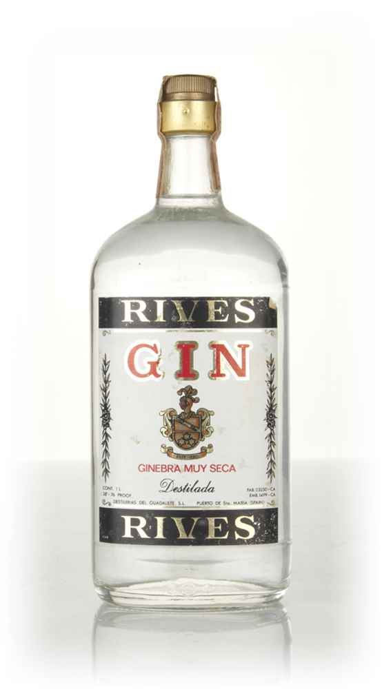 Rives Extra Dry Gin - 1970s