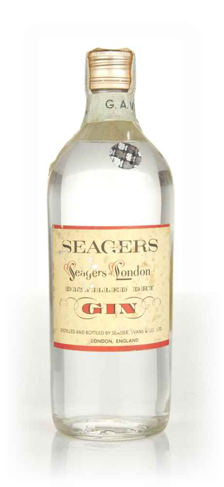 Seager's London Dry Gin - 1960s