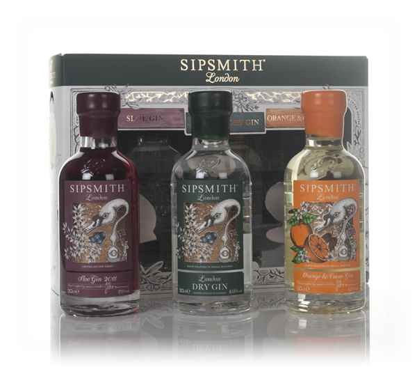 Sipsmith Triple Pack (3 x 20cl)