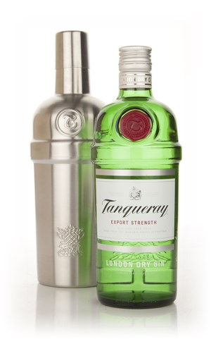 Tanqueray Gin with Free Cocktail Shaker'