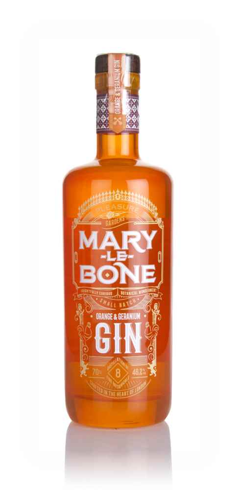Marylebone Orange & Geranium Gin (70cl)