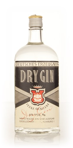 German Dry Gin (Deutches Erzeugnis) - 1960s