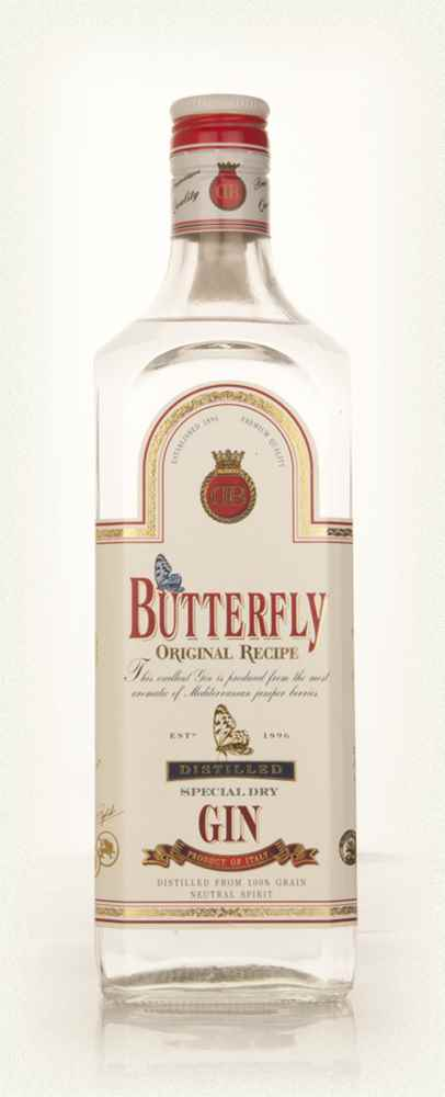 Butterfly Special Dry Gin - 1990s