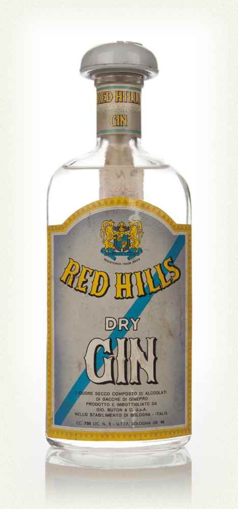 Red Hills Dry Gin - 1960s