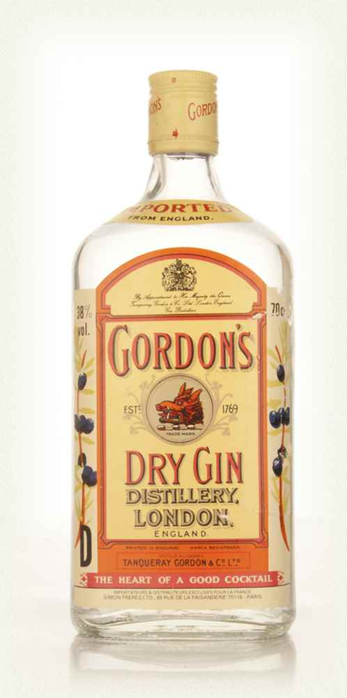 Gordon's Dry Gin - early 1980s