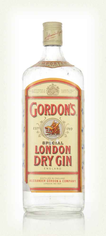 Gordon's London Dry Gin - 1990s
