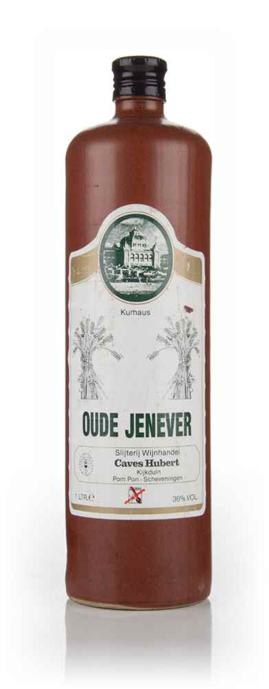 Caves Hubert Oude Jenever - 1980s
