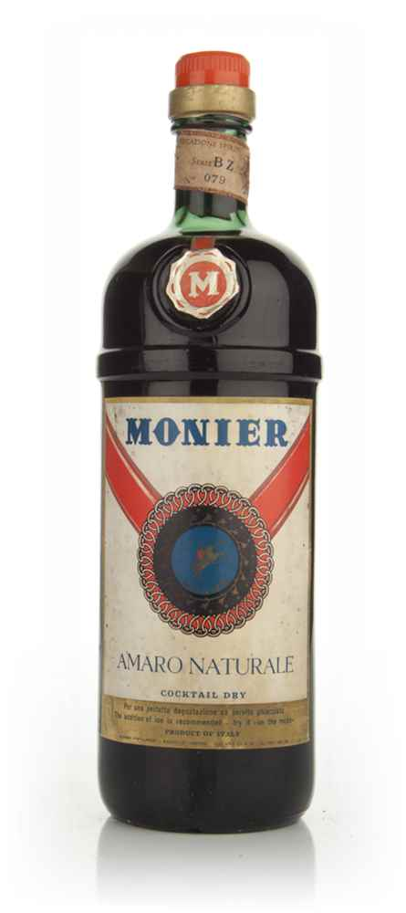 Monier Amaro Naturale Cocktail Dry - 1970s