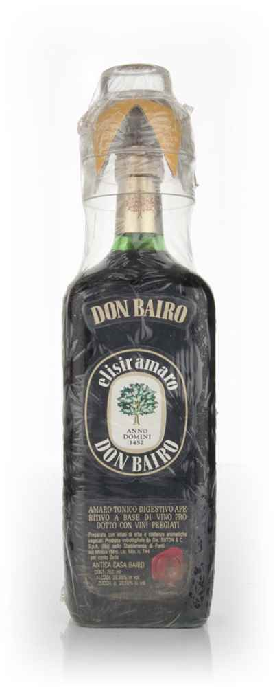 Don Bairo Elisir Amaro with Cup - 1970s