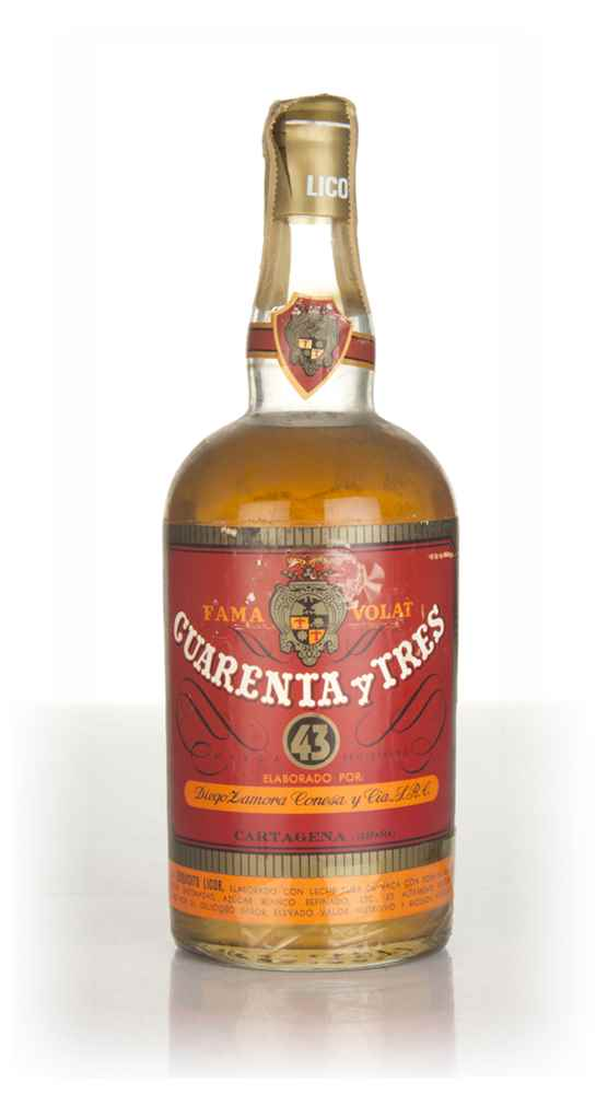 Licor 43 Cuarenta y Tres (Red Label) - 1960s