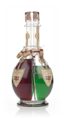 Wynand Fockink Four Compartment Liqueur Bottle - 1950s