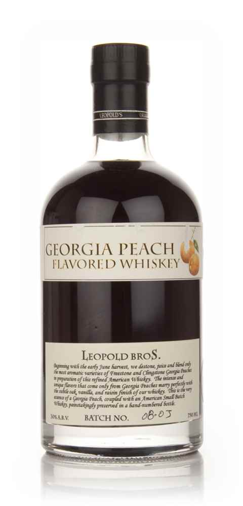 Georgia Peach Flavored Whiskey
