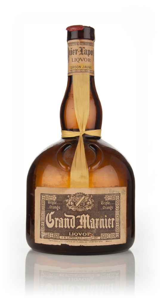 Grand marnier cordon jaune 1950s liqueurs master of malt for Grand marnier cordon jaune aldi