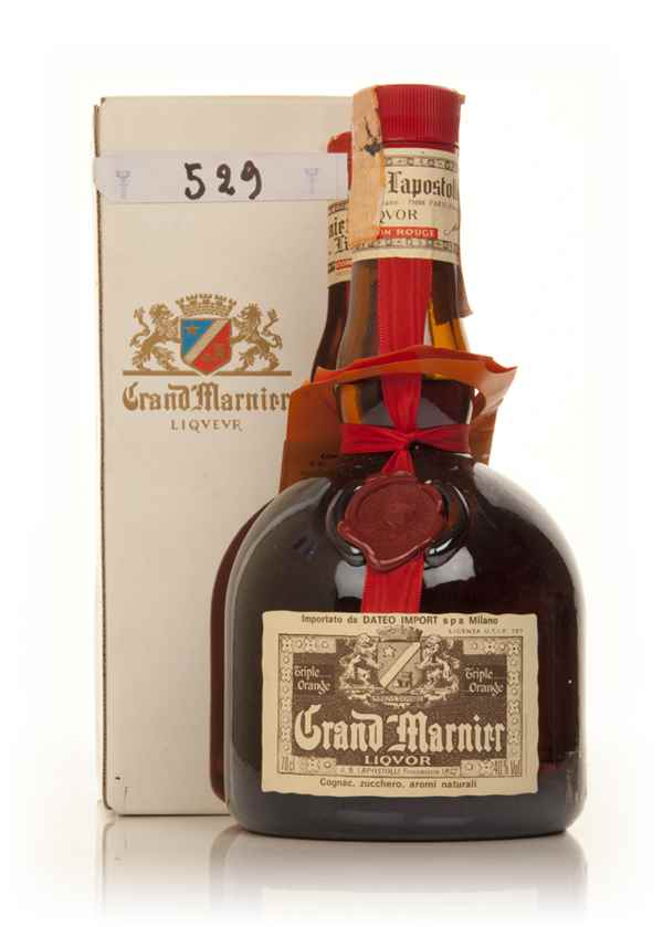 Grand marnier cordon rouge 1980s boxed liqueurs for Grand marnier cordon jaune aldi
