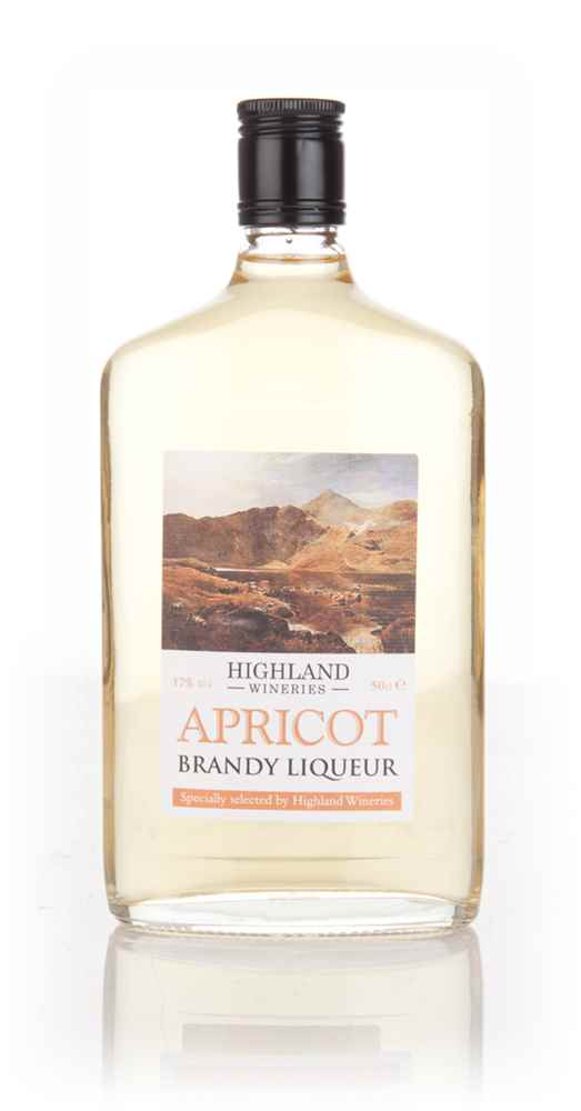Highland Wineries Apricot Brandy Liqueur 50cl