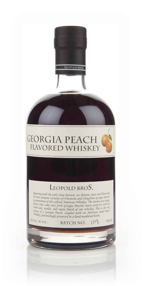 Leopold Bros Georgia Peach Flavored Whiskey 70cl
