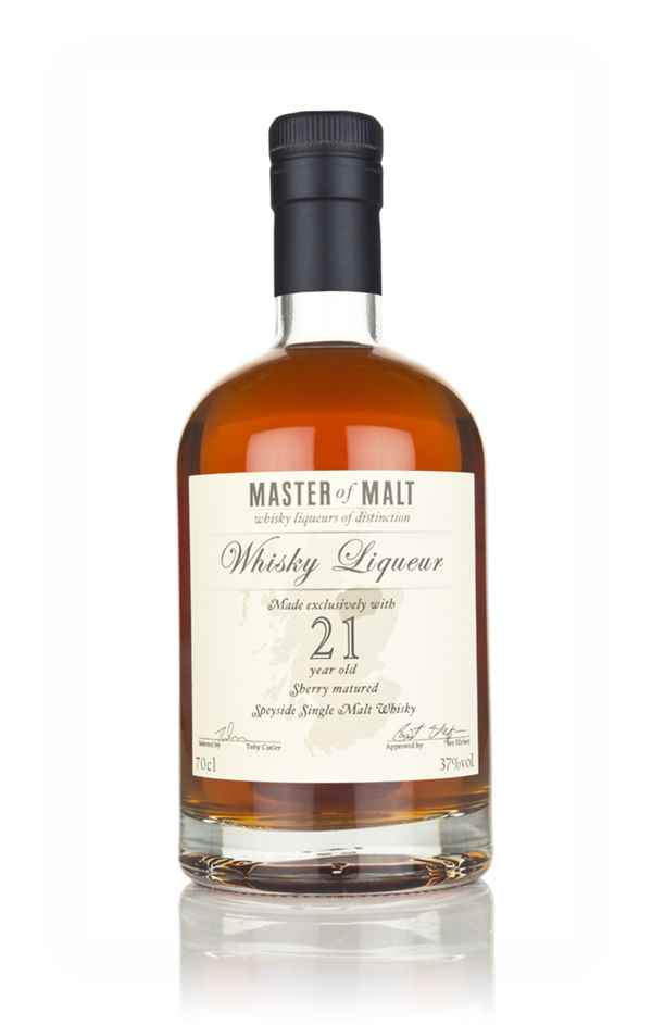 Master of Malt 21 Year Old Speyside Whisky Liqueur