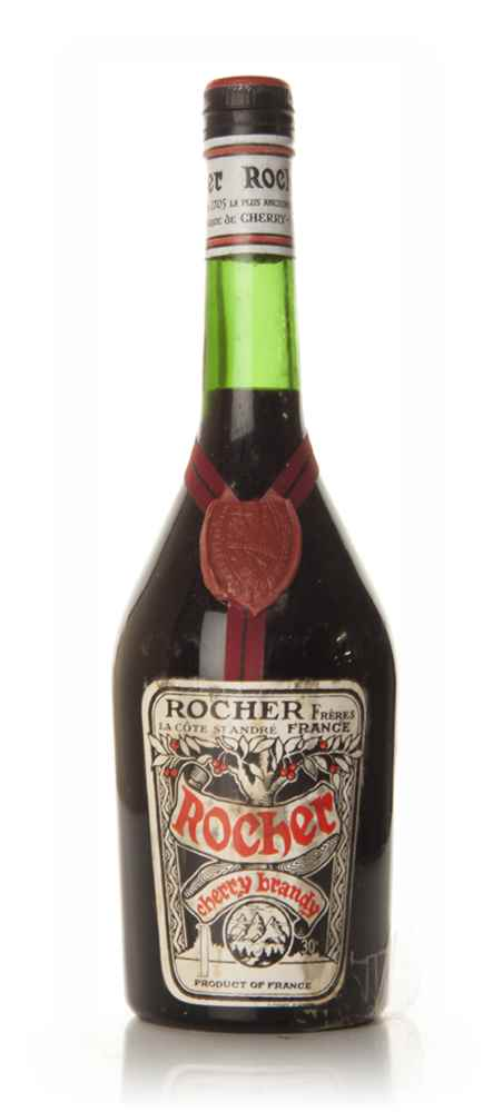 Rocher Cherry Brandy - 1960s