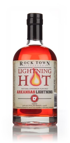Rock Town Lightning Hot Cinnamon Flavoured Arkansas Lightning