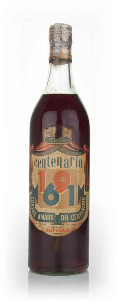 Superga Cocktail Amaro del Centenario - 1961