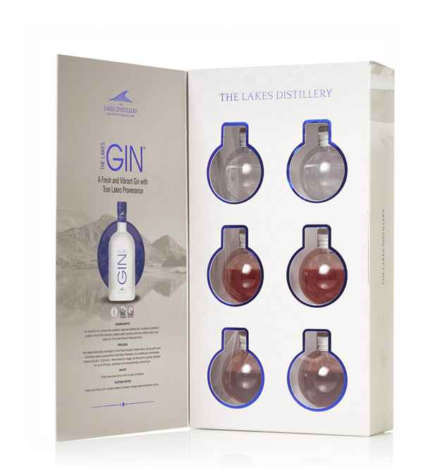 The Lakes Gin Bauble Gift Set