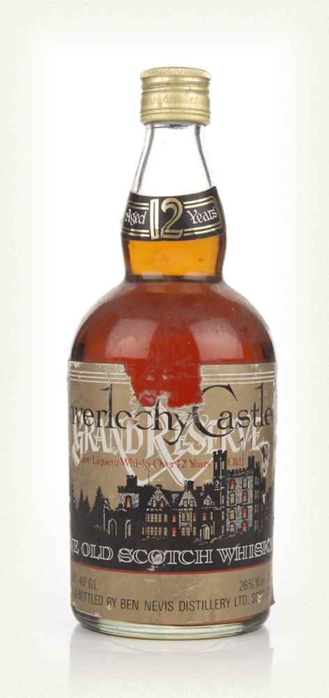 Inverlochy Castle Rare Liqueur Whisky Over 12 Years Old - 1970s