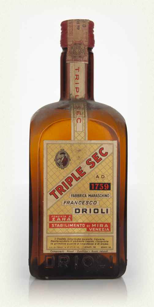 Francesco Drioli Triple Sec - 1960s