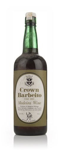Crown Barbeito Fine Dry Madeira - 1970s