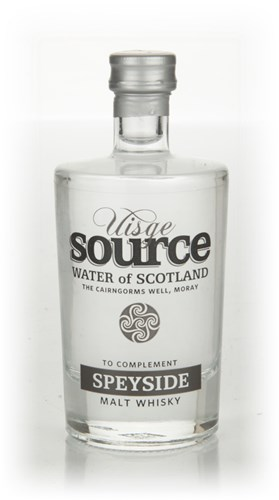 Uisge Source Water of Scotland - Speyside