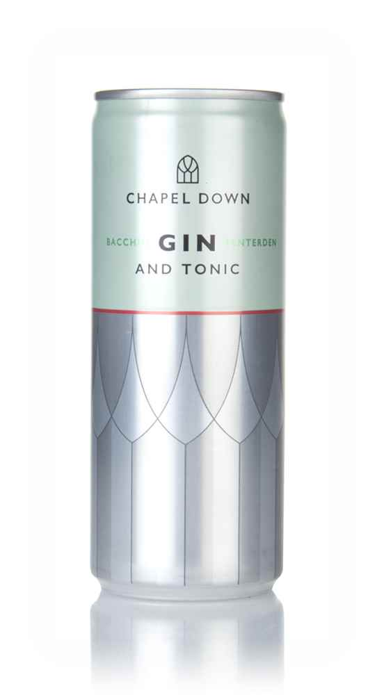 Chapel Down Bacchus Gin and Tonic
