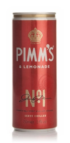 Pimm's and Lemonade Can