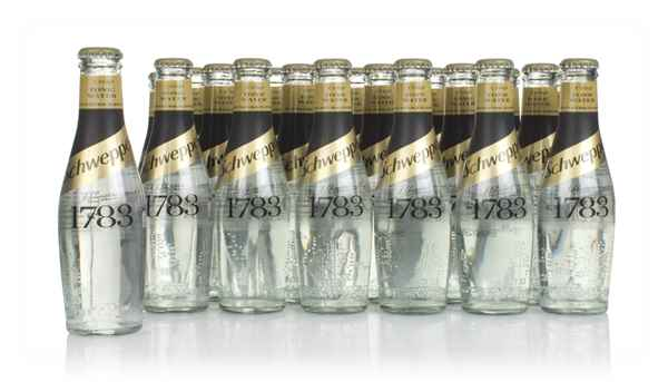Schweppes 1783 Tonic Water (24 x 200ml)
