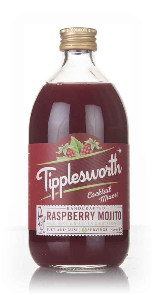 Tipplesworth Raspberry Mojito Cocktail Mixer