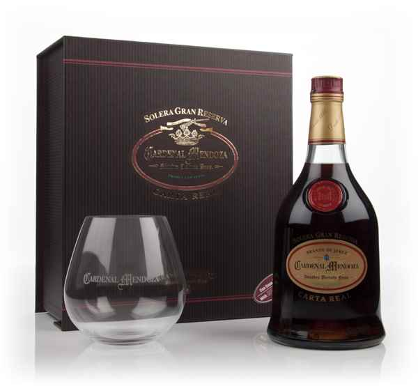 Cardenal Mendoza Carta Real With Riedel Snifter