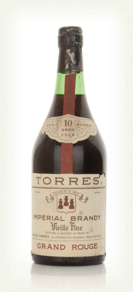 Torres Vielle 10 Year Old VSOP Fine Imperial Brandy - 1970s