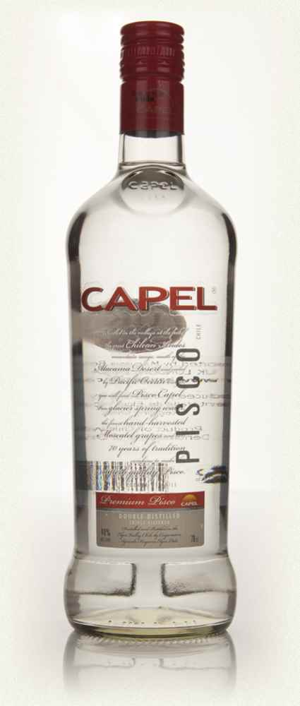 Capel Double Distilled Transparent Pisco