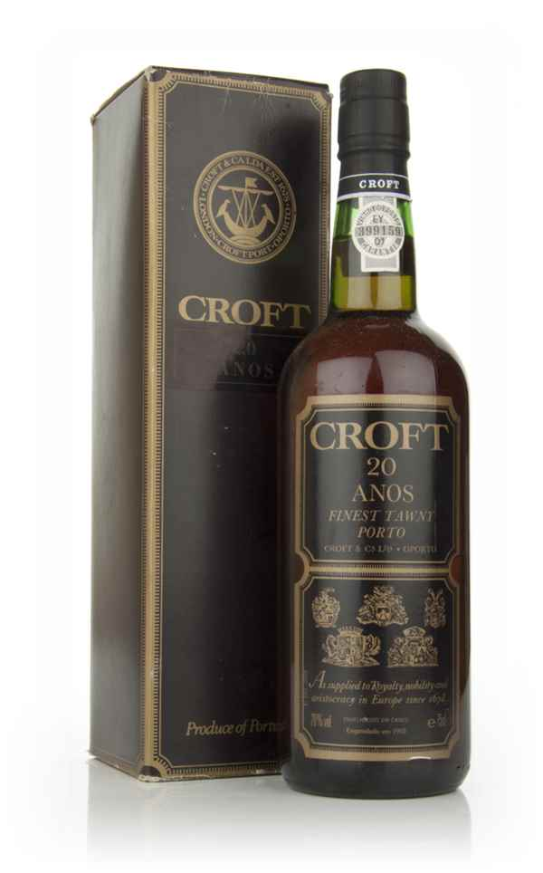 Croft 20 Year Old Port - 1970s
