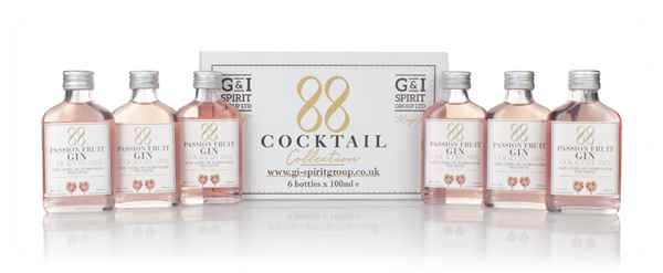 88 Cocktail Passion Fruit Gin Cocktail Mix (6 x 100ml)