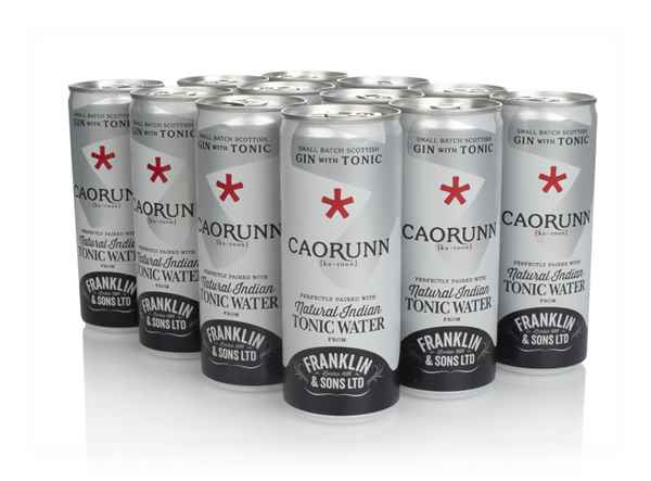 Caorunn Small Batch Gin & Natural Indian Tonic Water (12 x 250ml)