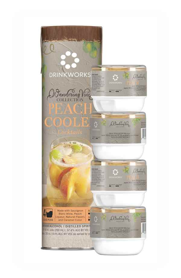 Drinkworks Peach Cooler Tube (4x Pods)
