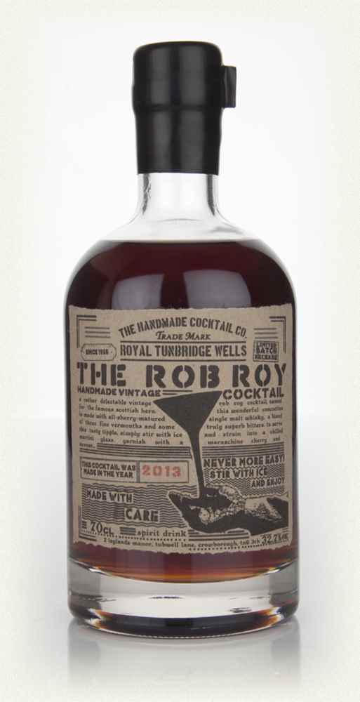 The Rob Roy Cocktail 2013