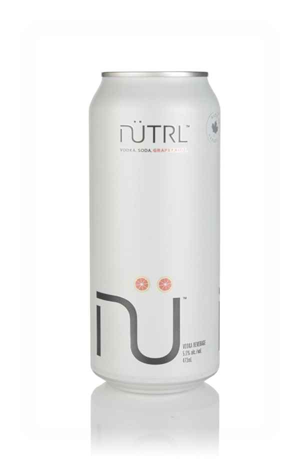 NÜTRL Grapefruit Vodka Soda