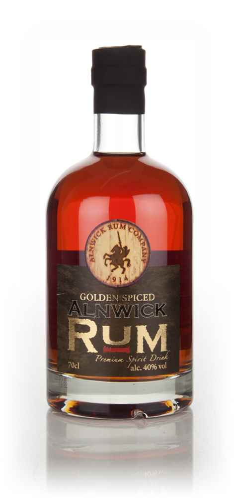 Alnwick golden spiced rum master of malt for Mix spiced rum with