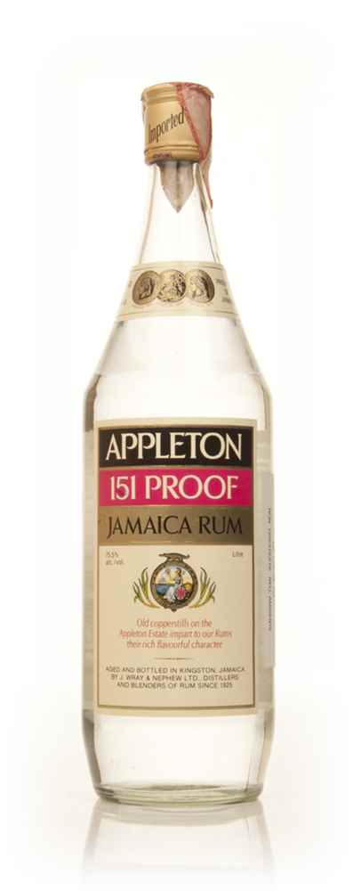 Appleton Estate 151 proof - 1970s