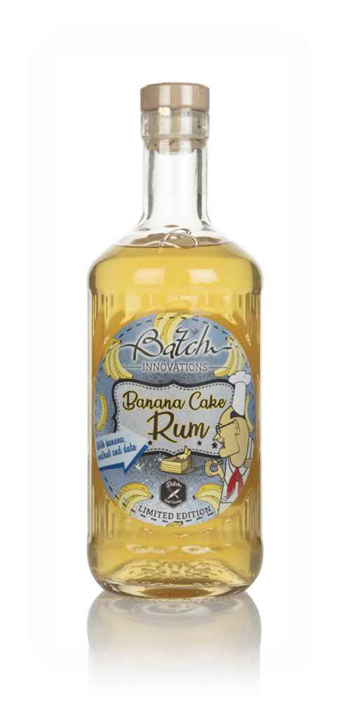 Batch Banana Cake Rum