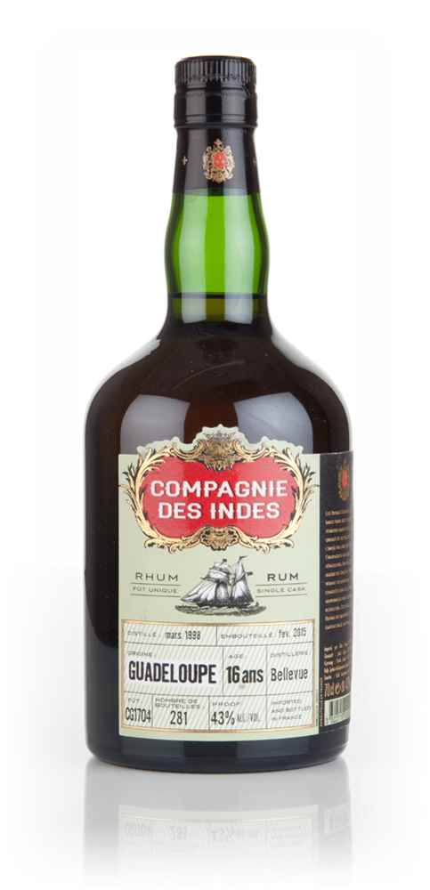 Bellevue 16 Year Old 1998 - Guadeloupe Rum (Compagnie des Indes)